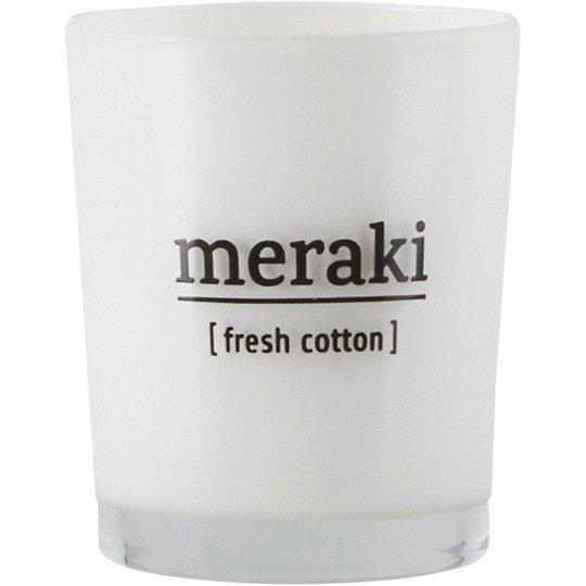 Fresh Cotton Scented Candle, Meraki Tuoksukynttilät