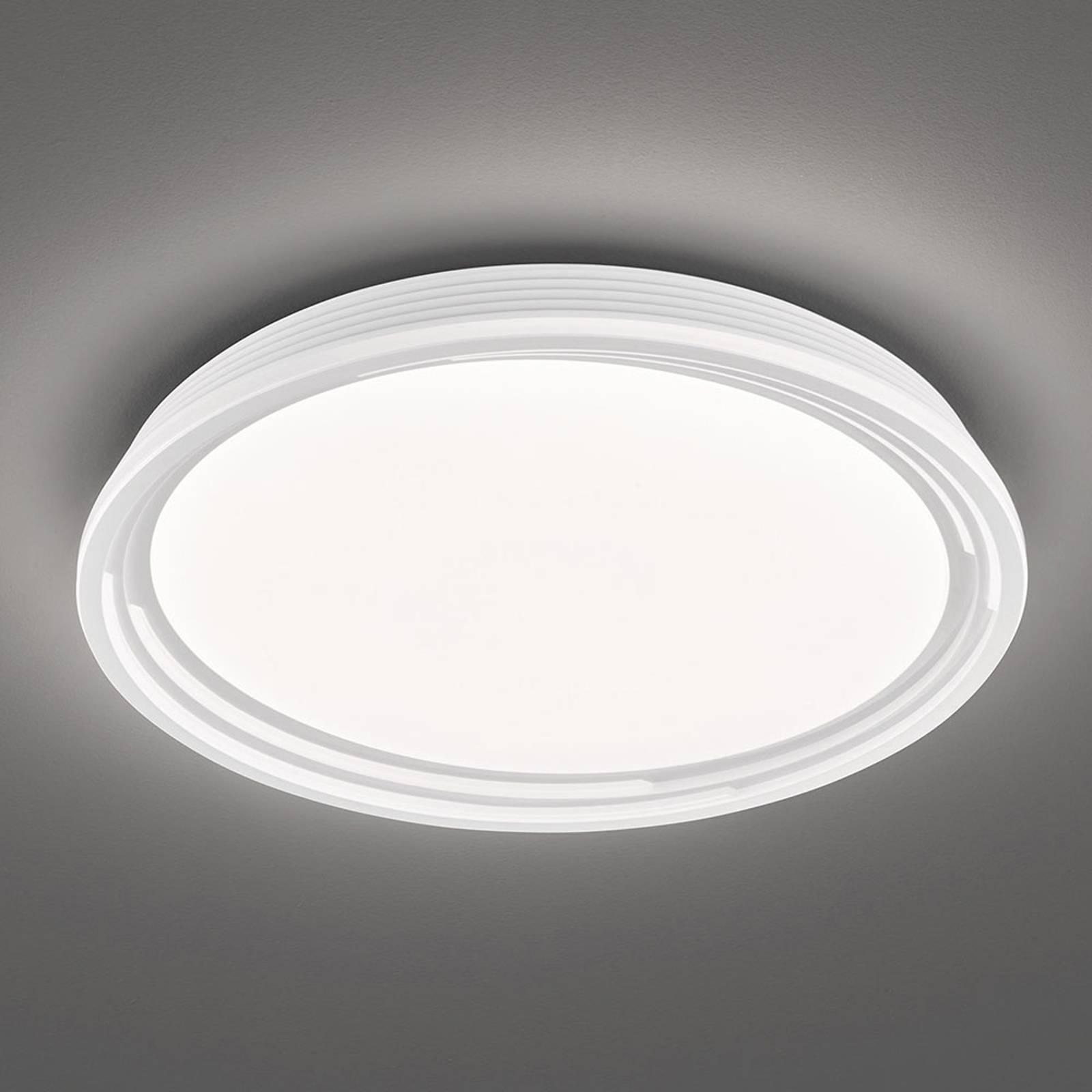 LED-kattovalaisin Dua, himmennettävä, Ø 52 cm
