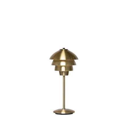 Valencia Bordslampa Mässing LED 18 cm
