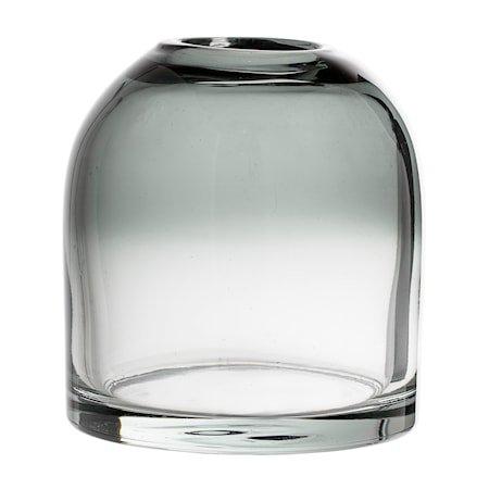 Vase Grå Glass 12x13cm