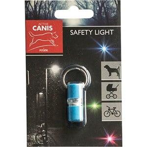 Lampa till hundhalsband Active Canis Ljusblå, XS