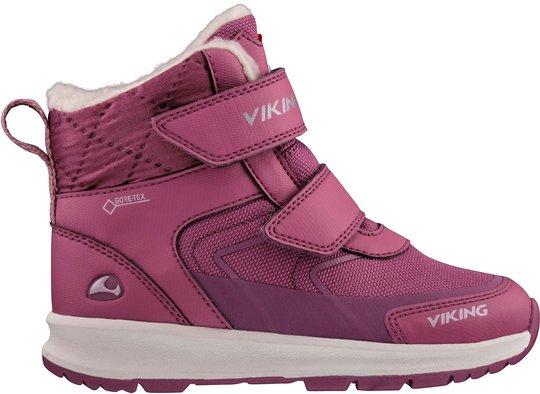 Viking Ella GTX Vintersko, Dark Pink/Violet, 21