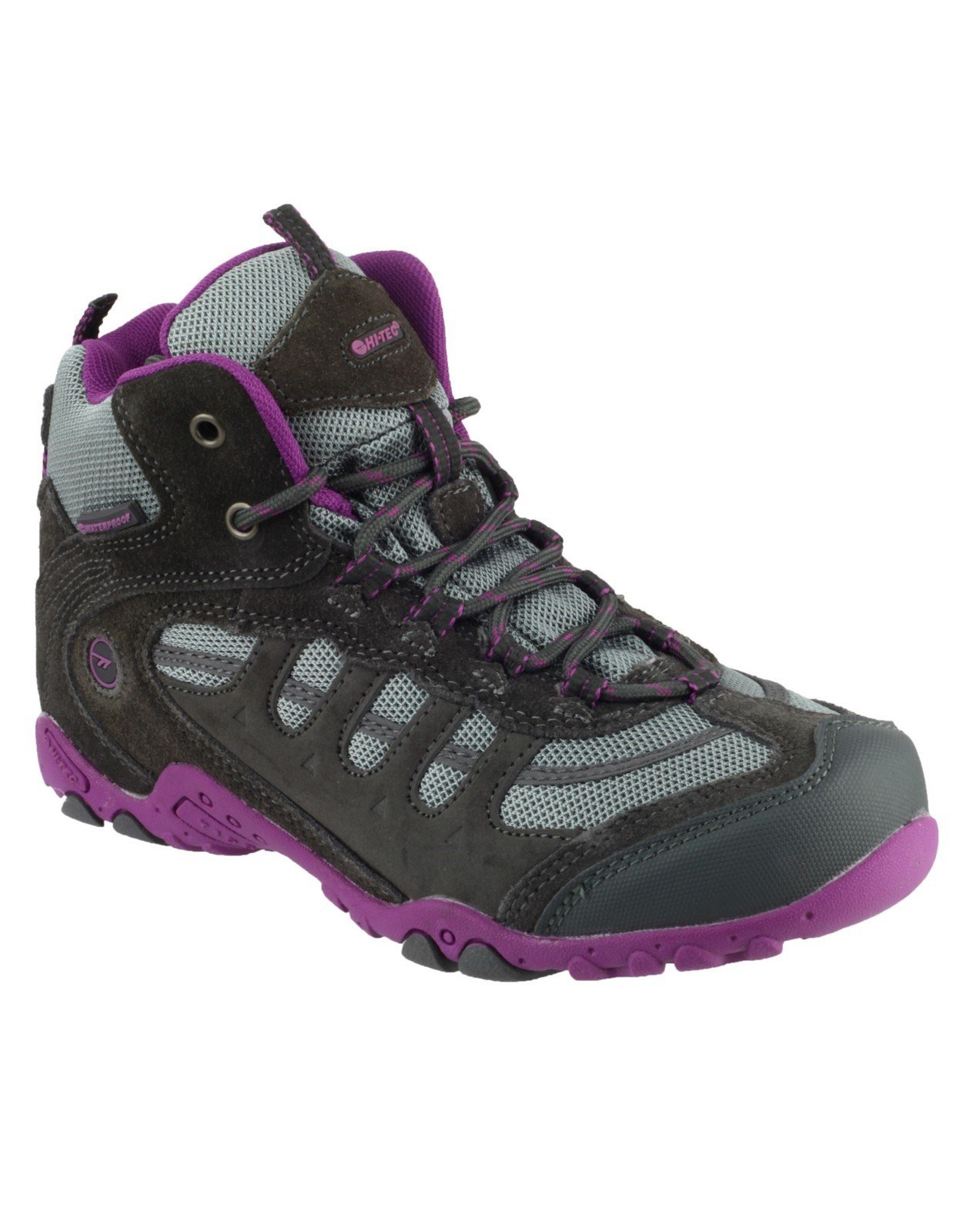 Hi-Tec Unisex Penrith Hiking Boot Various Colours 20868 - Purple 10