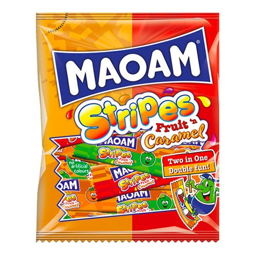 Maoam Stripes Fruit n Caramel