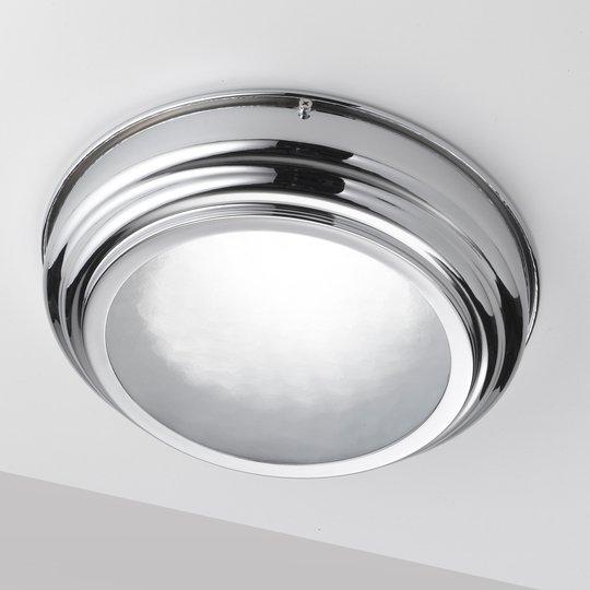 Kromattu LED-kattovalaisin Scirocco