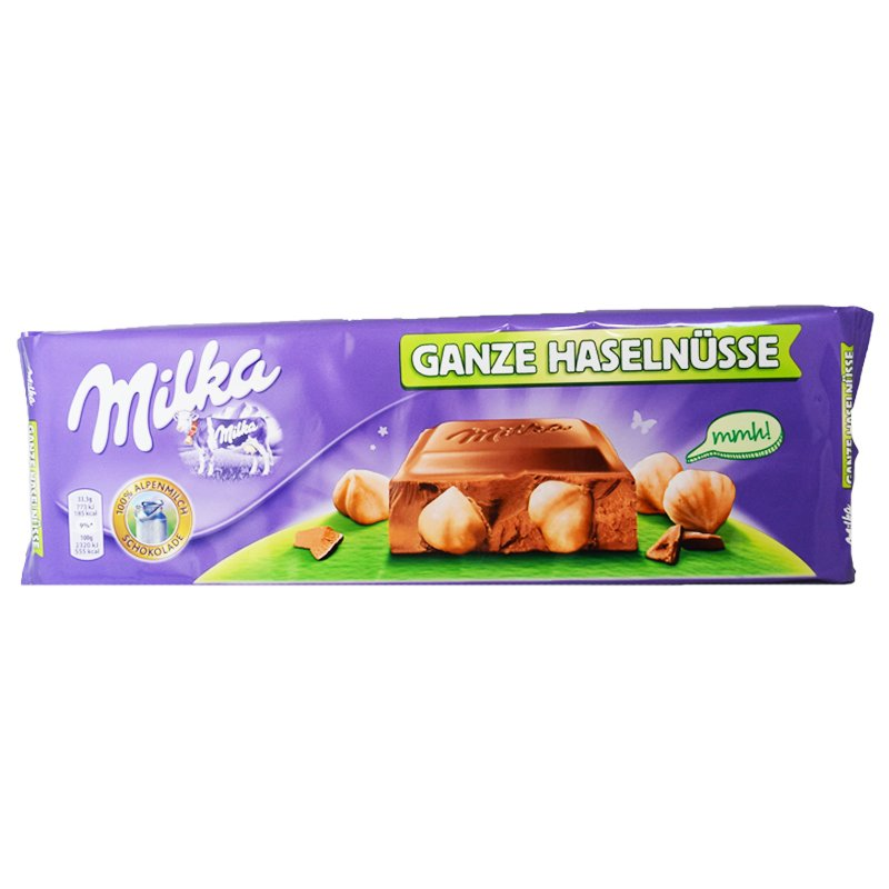 "Chokladkaka ""Ganze Haselnüsse"" 300g - 44% rabatt"