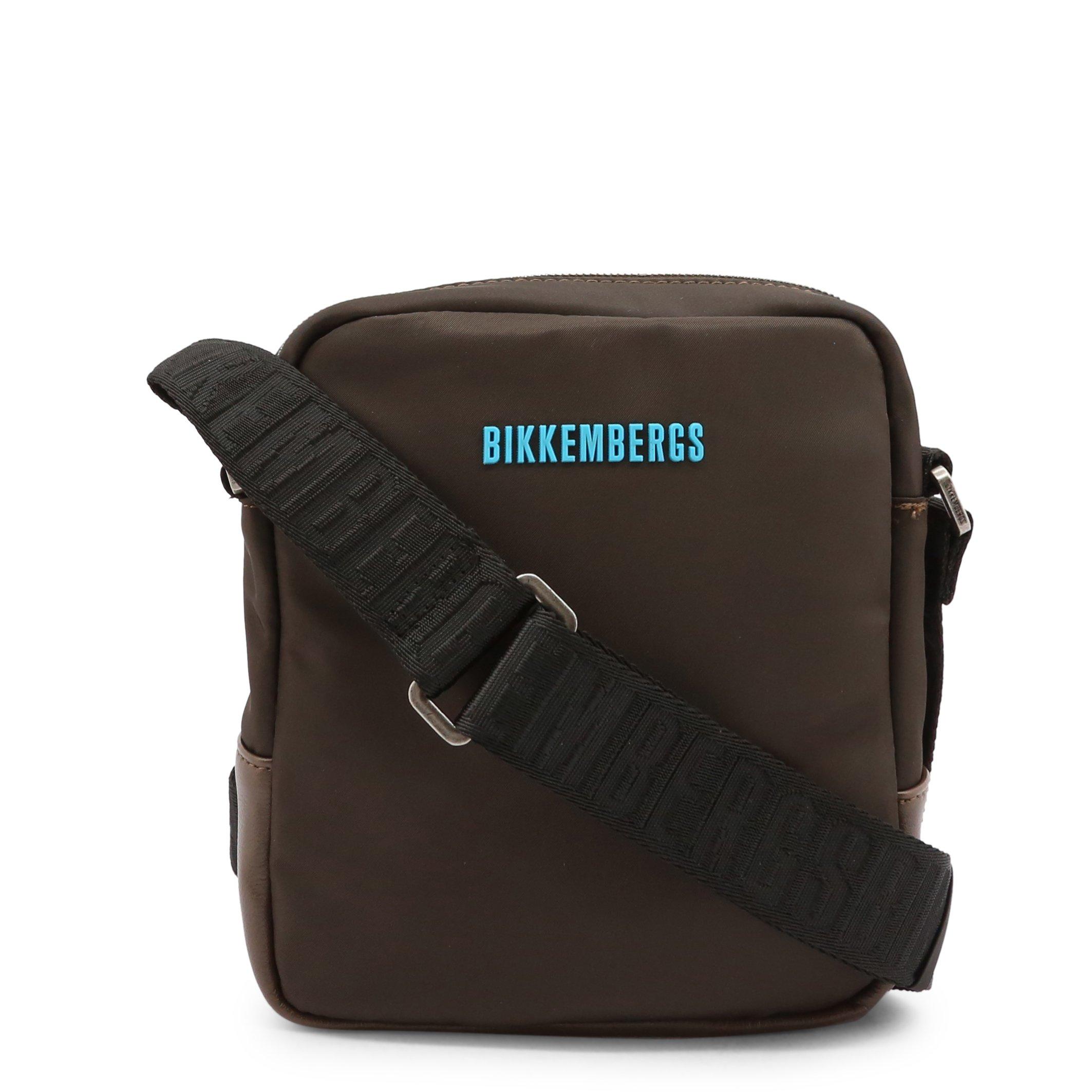 Bikkembergs Men's Crossbody Bag Various Colours E2BPME1Q0022 - brown NOSIZE