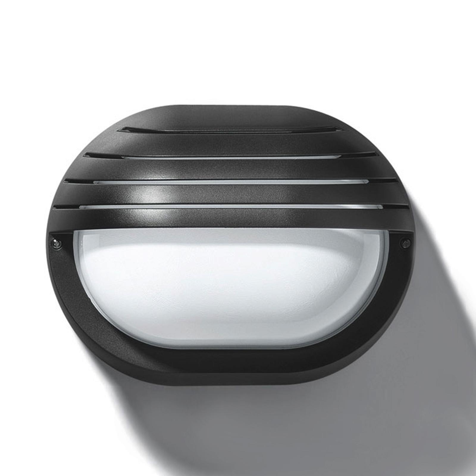 Klassinen ulkoseinävalaisin EKO 19 GRILL, musta