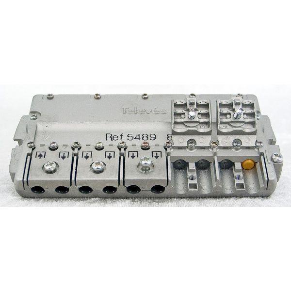 Televes 5489 Fordeler med EasyF-tilkobling 20 dB