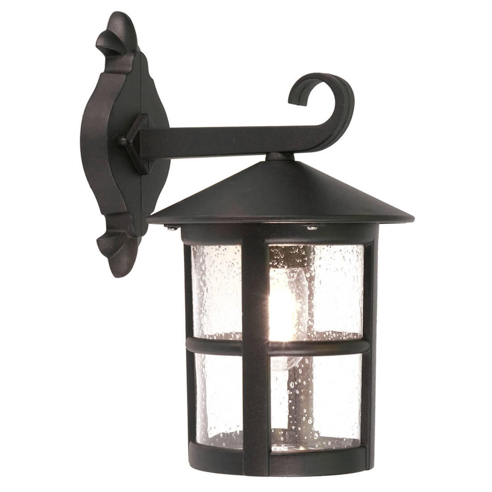 Nedoverpekende lanterne- Hereford vegglampe