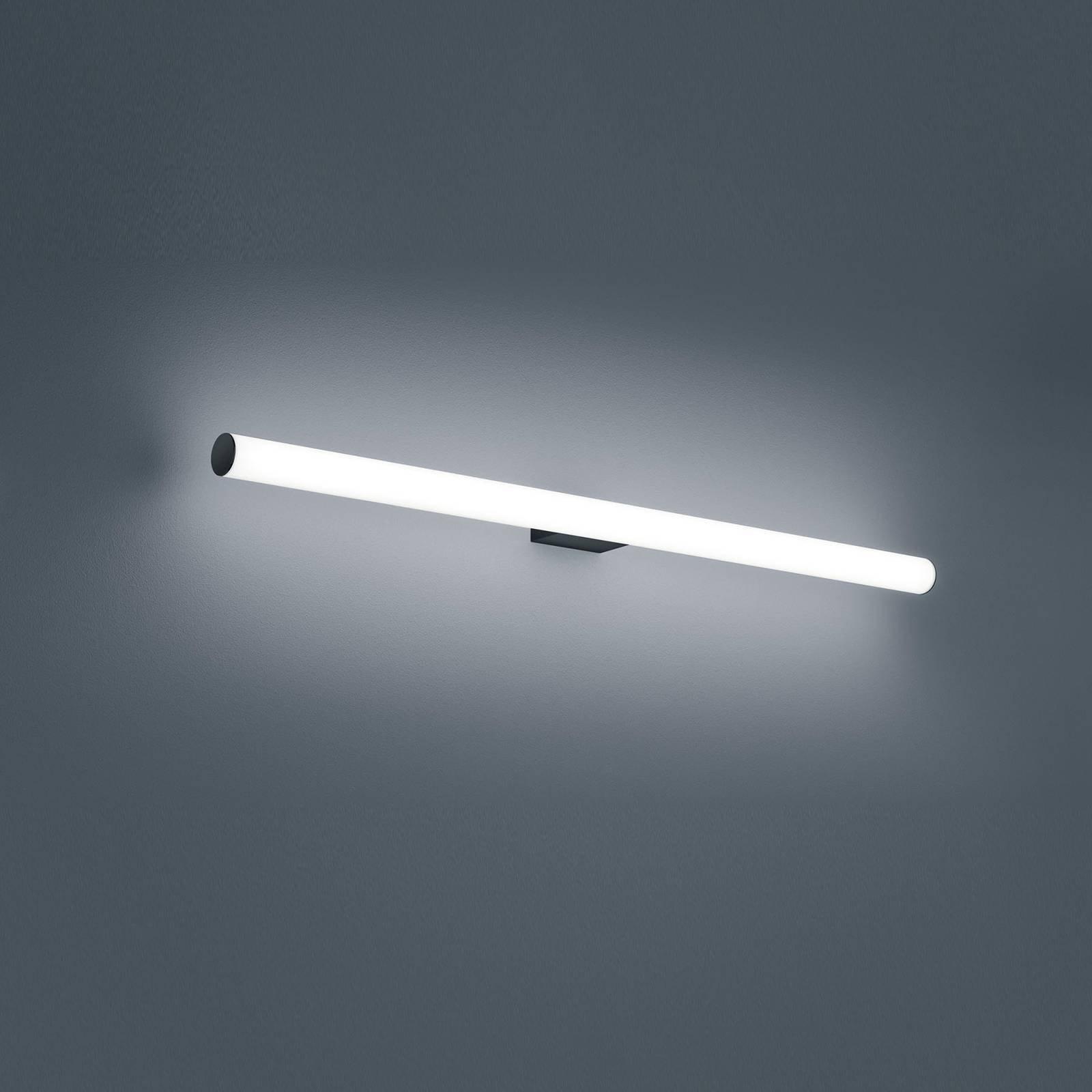 Helestra Loom LED-speillampe, svart, 90 cm