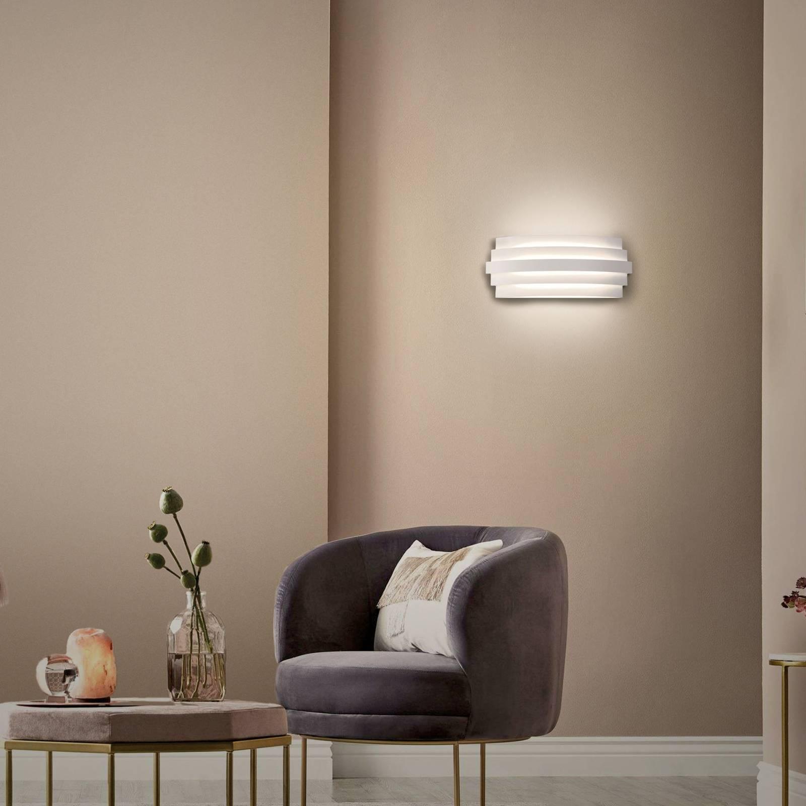 LED-seinävalaisin Luxur, valkoinen