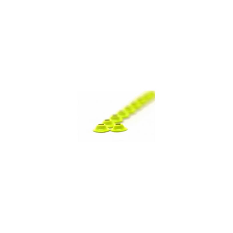 FF UfoDisc Fl. Yellow Chartreuse 8 mm FutureFly