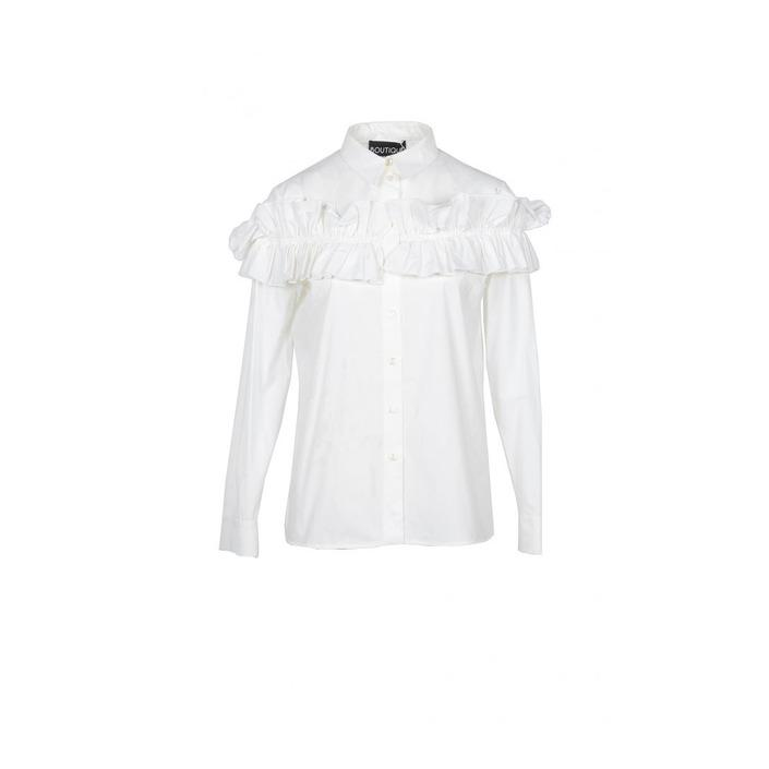 Boutique Moschino Women's Shirt White 171777 - white 38