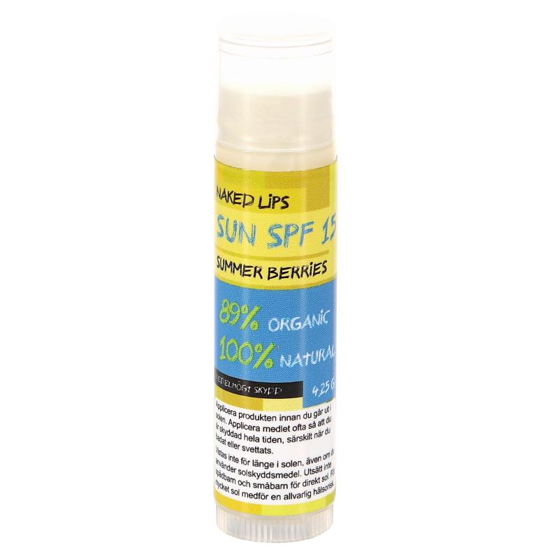 Naked Lips SUN - SPF 15 - 90% rabatt