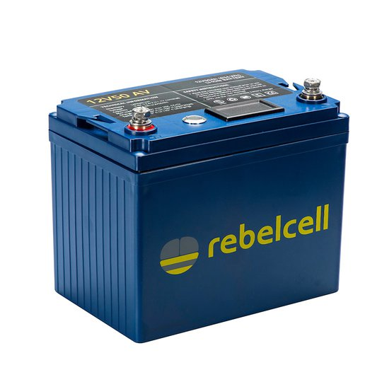Rebelcell 12V 50 Ah litiumbatteri