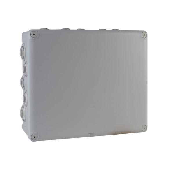 Schneider Electric ENN05019 Koblingsboks grå, skrulokk 325 x 275 x 120 mm