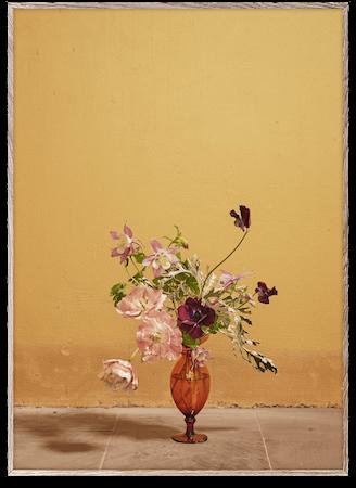 Blomst 02 / Ochra Poster 50x70 cm