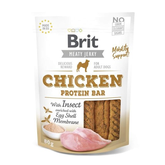 Brit Care Meaty Jerky Proteinbar Chicken Insect 80 g