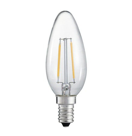 Vintage LED Filament Krone Clear 45mm