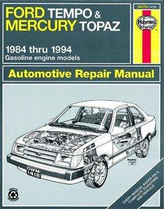 Haynes Reparationshandbok, Ford Tempo & Mercury Topaz, Universal