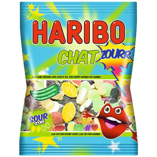 """Godis """"Chat Zourr"""" 135g - 41% rabatt"""