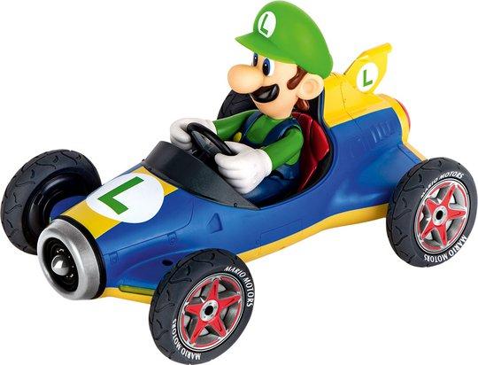 Carrera Mario Kart Mach 8 Luigi Bil og Kontroll