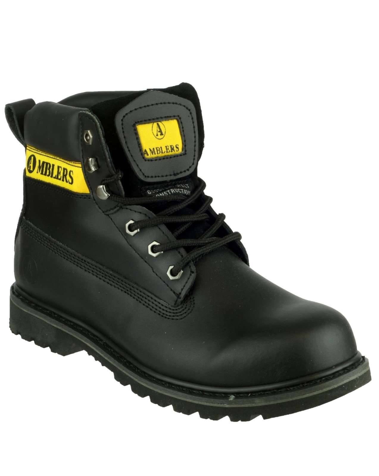 Amblers Women's Banbury Casual Boot Black 19517 - Black 6