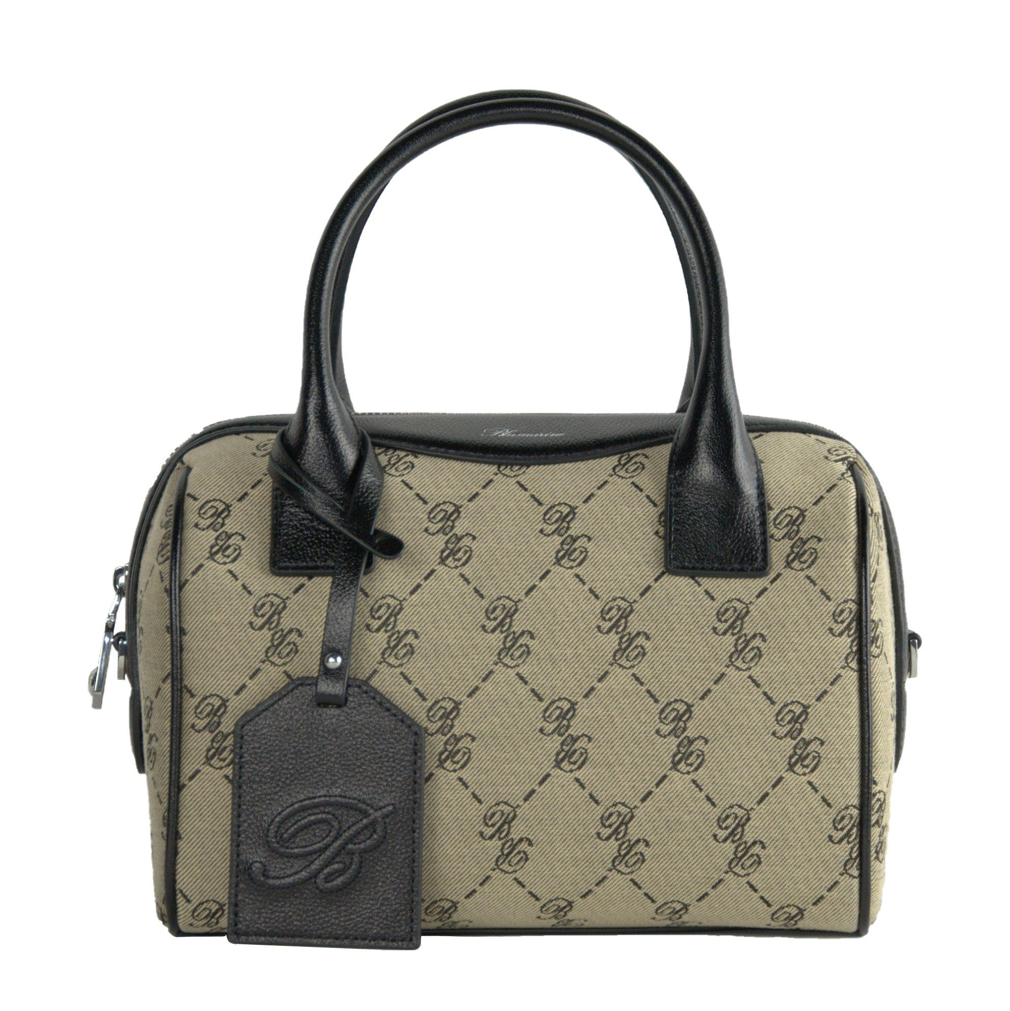 Blumarine Women's Bowling Bag Beige BL1421376