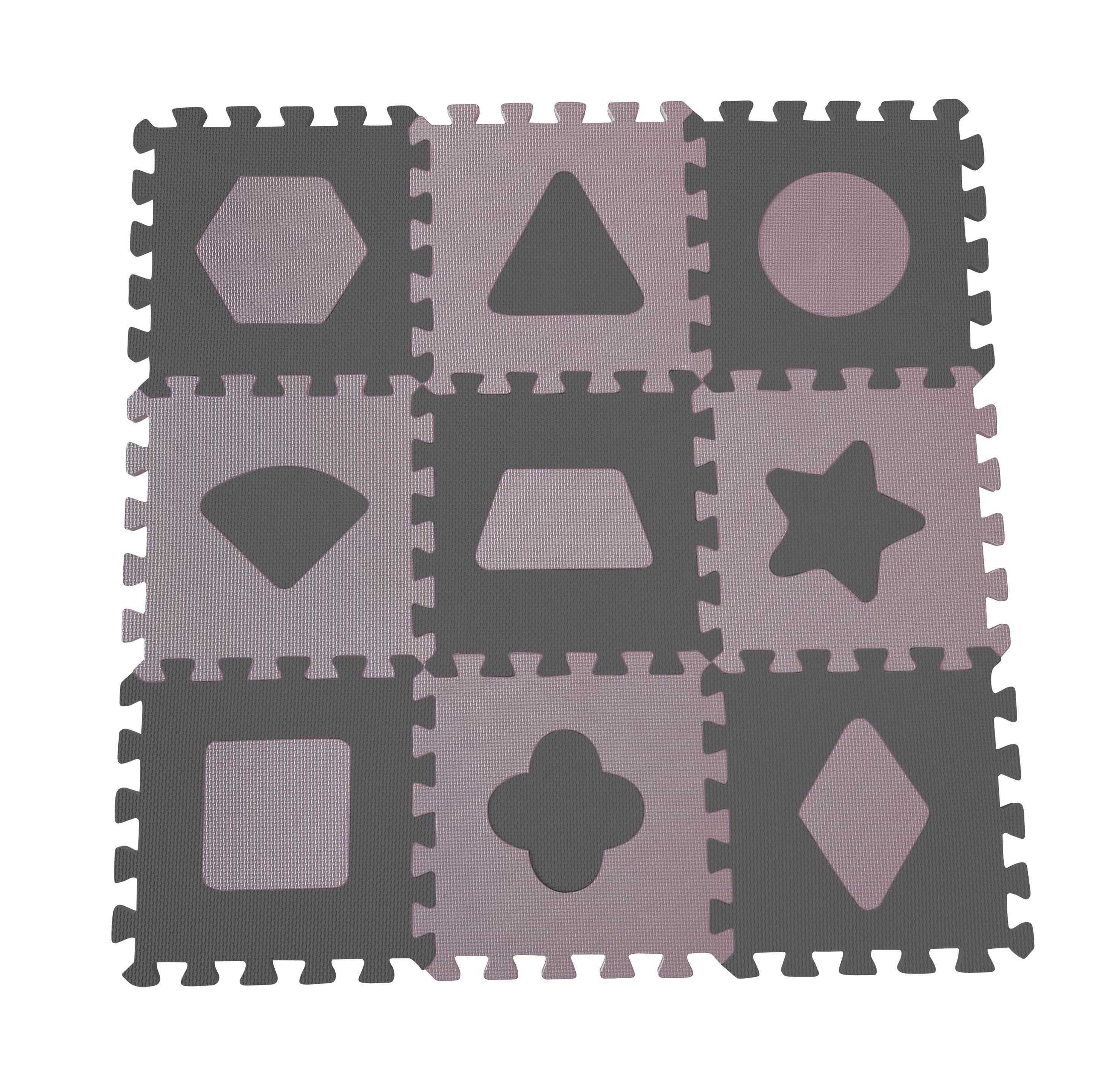Baby Dan - Playmat Geometric Shapes - Rose