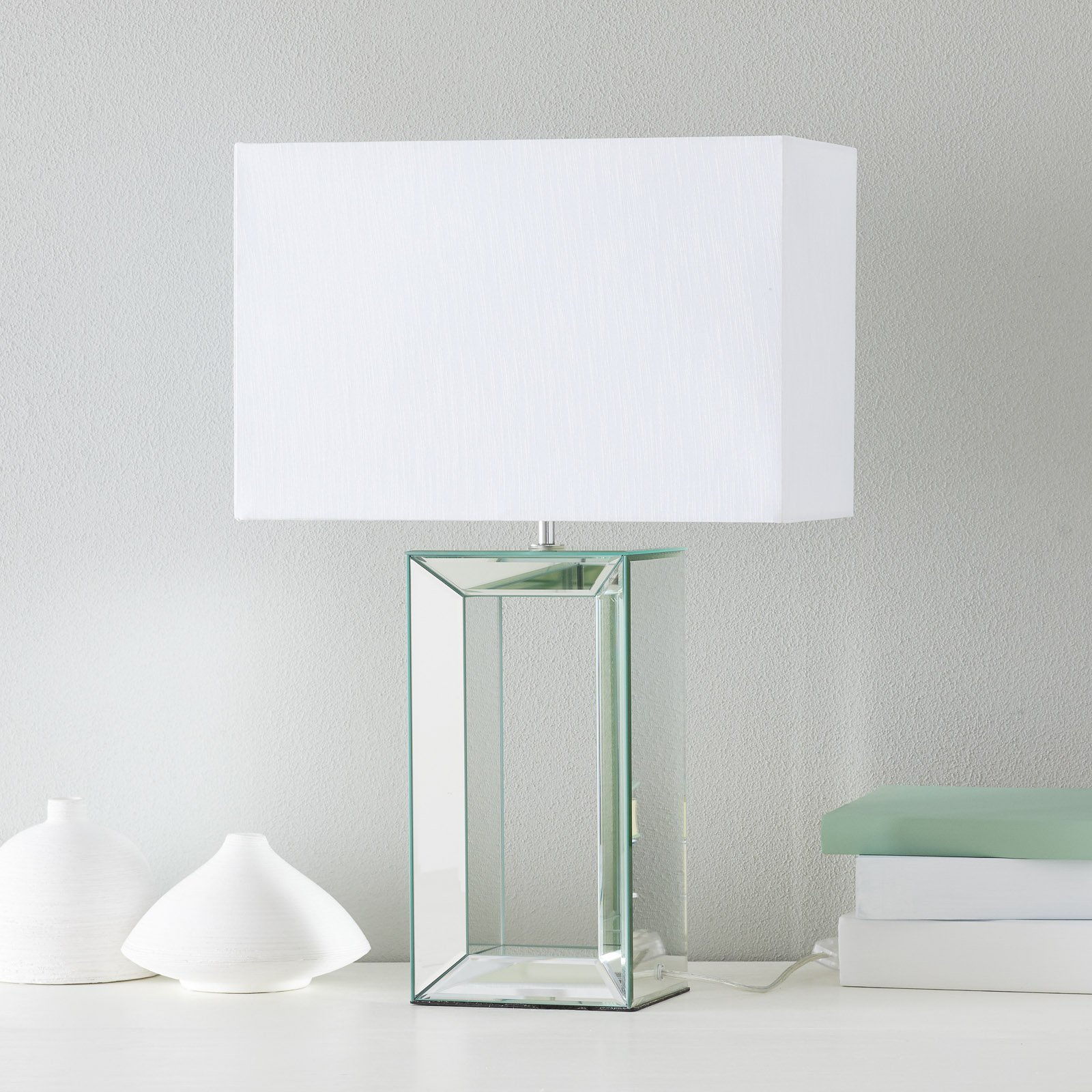 Stilfull bordlampe Reflections 58 cm