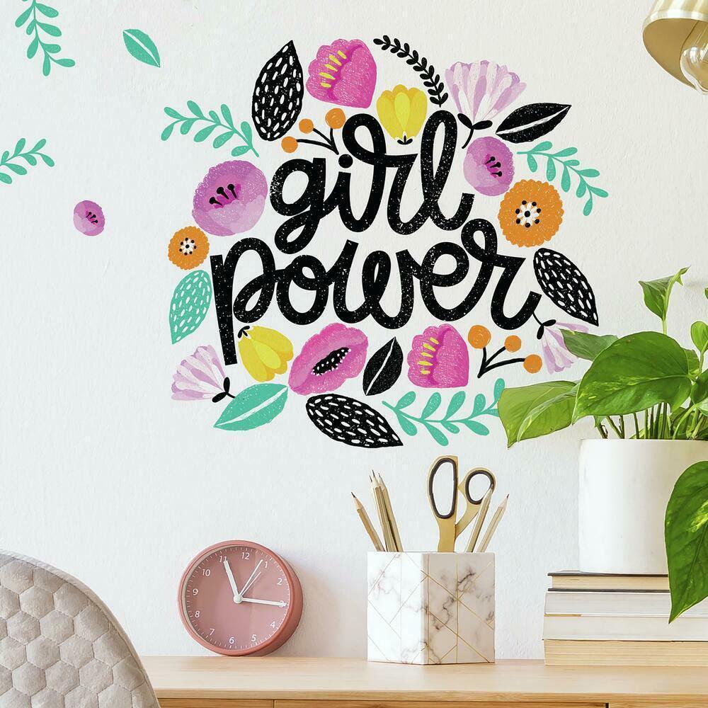 RoomMates Sisustustarrat Girl Power