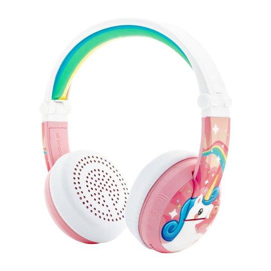 BuddyPhones Wave Hodetelefoner , Unicorn Rosa