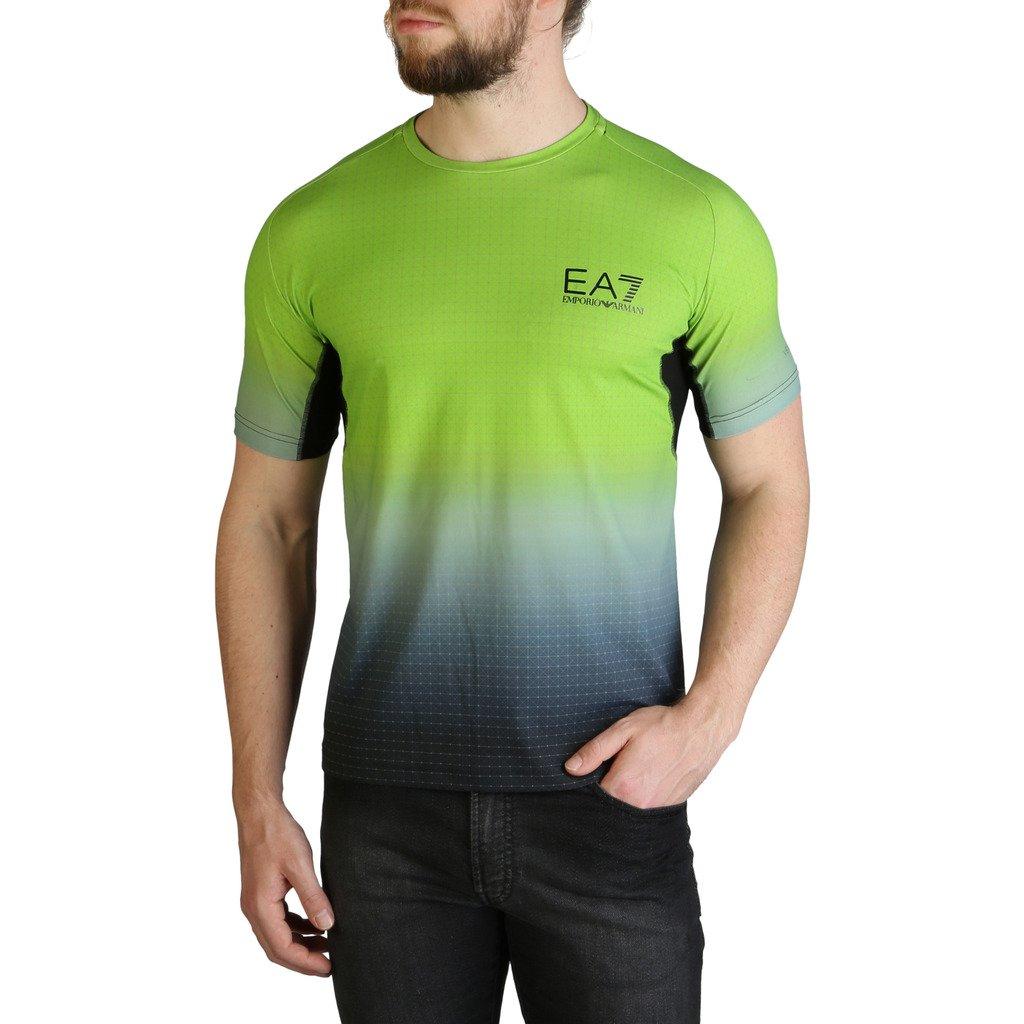 EA7 Men's T-Shirt Green 3GPT93_PJ2BZ - green M