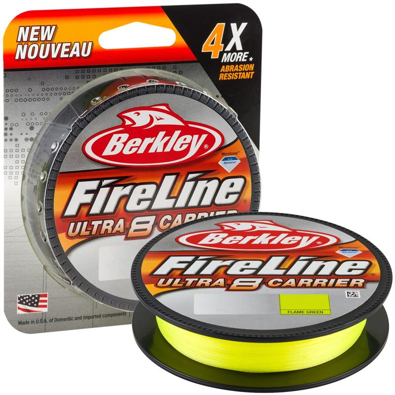 Berkley Fireline Ultra 8 150m 0,17 mm Green - Ny og forbedret superline!