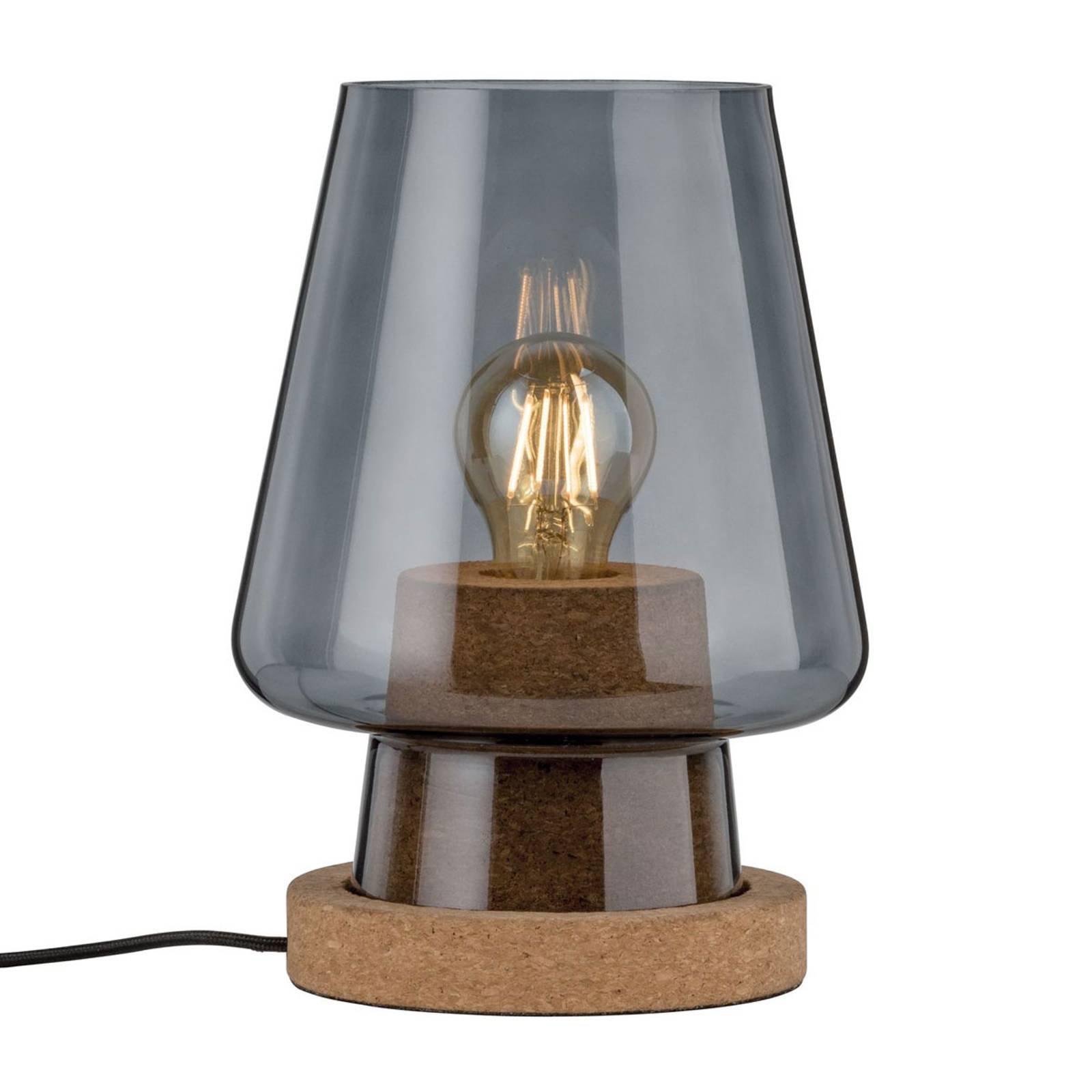 Paulmann Iben glass-bordlampe