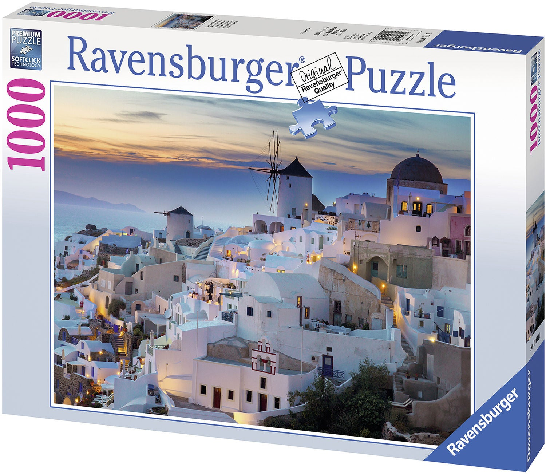 Ravensburger Pussel Evening In Santorini 1000 Bitar