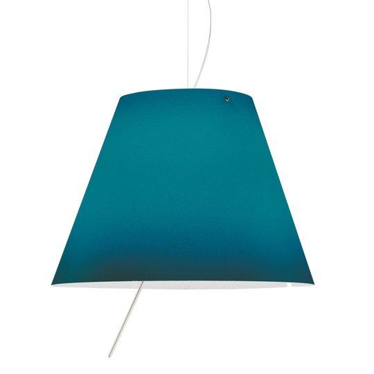 Sininen LED-riippuvalaisin Costanza, korkeussäätö