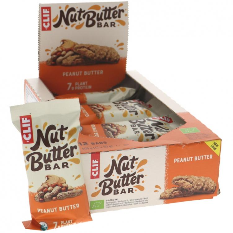 Energiapatukat Suklaa & Maapähkinävoi 12kpl - 32% alennus