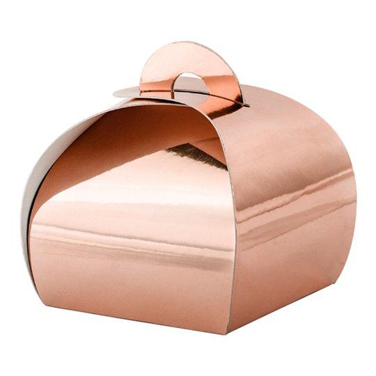 Dekorationsboxar Roséguld - 10-pack
