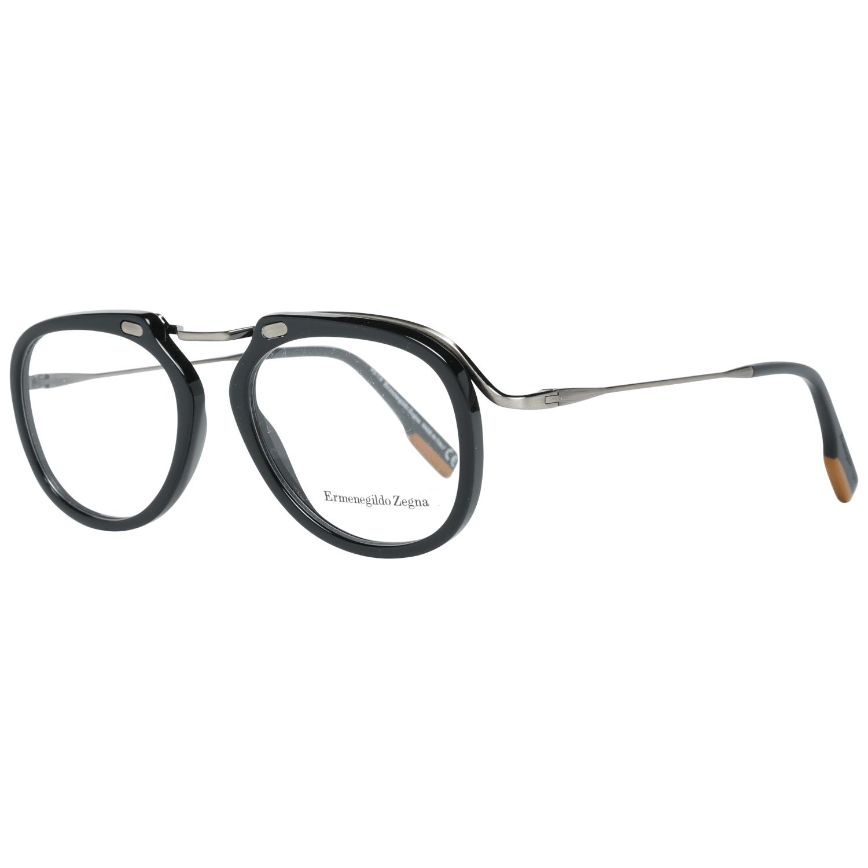Ermenegildo Zegna Men's Optical Frames Eyewear Black EZ5124 50001