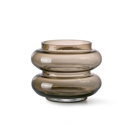 Smoked Brown Glas Vas S