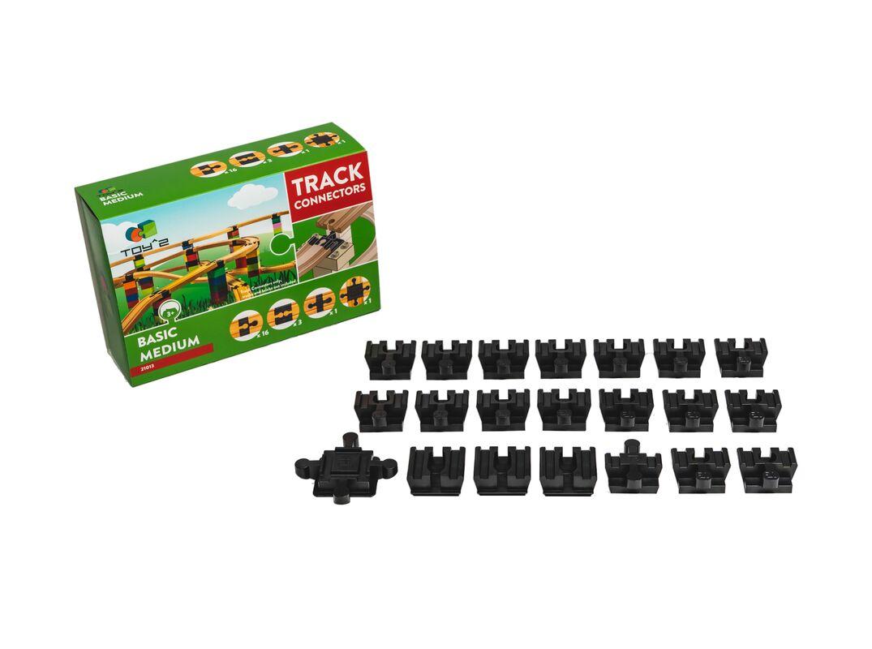 Track Connector - Basic Pack - Medium
