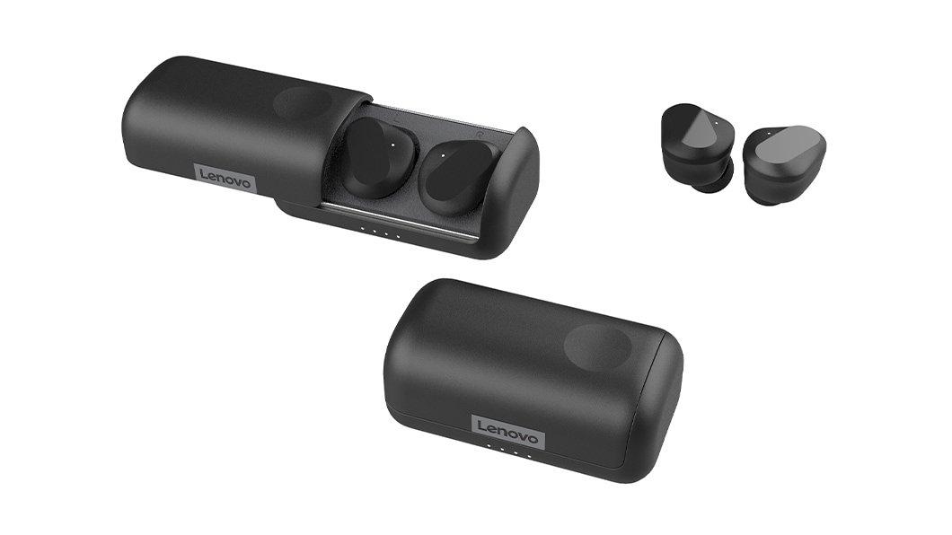 Lenovo - True Wireless Earbuds Bluetooth 5.0
