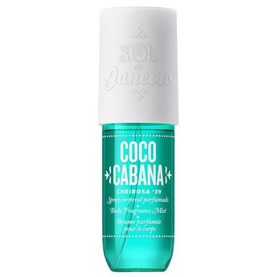 Coco Cabana Fragrance Mist, 90 ml Sol De Janeiro Vartaloemulsiot