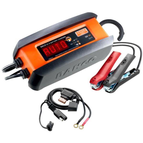 Bahco BBCE12-3 Batterilader 3 A, for 12 V batterier