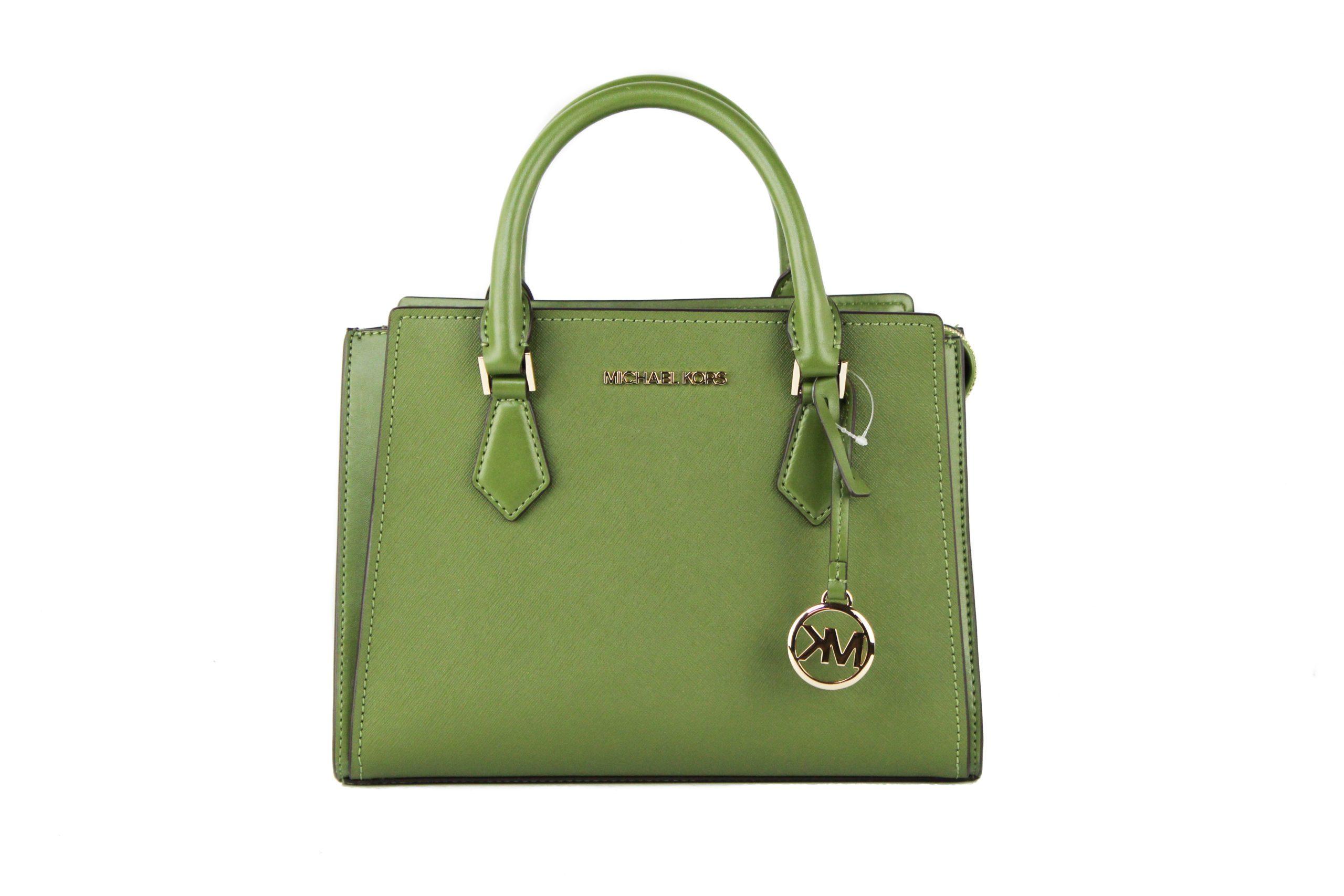 Michael Kors Women's Hope Messenger Bag Green 98138