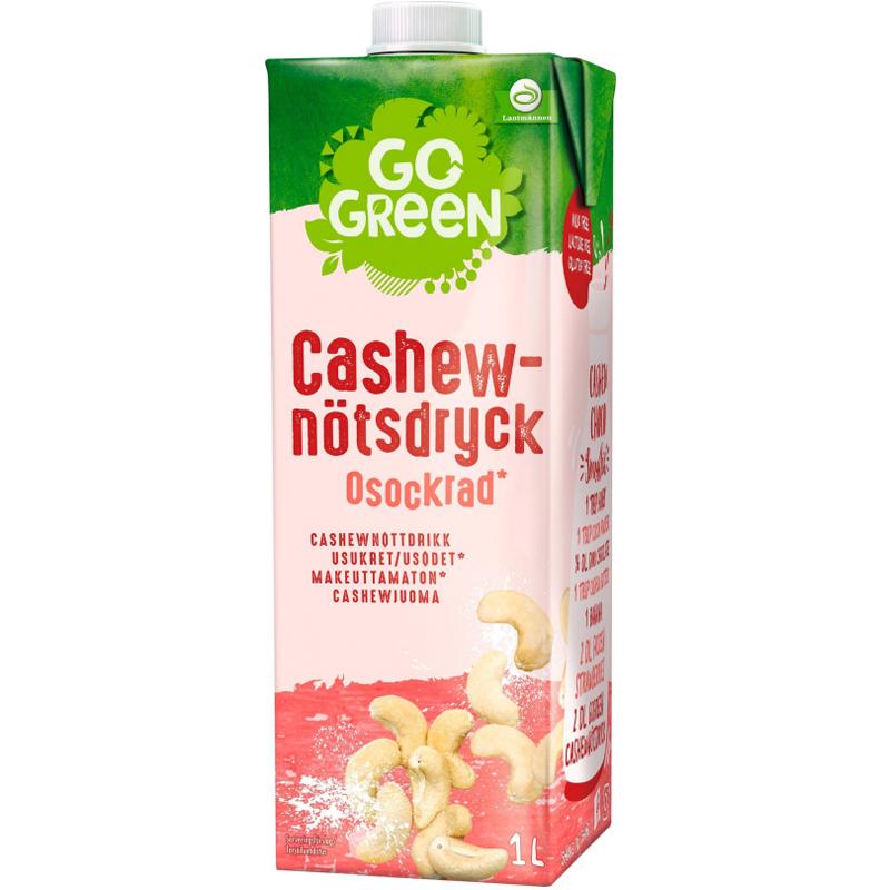 Cashewdryck Osockrad 1l - 25% rabatt