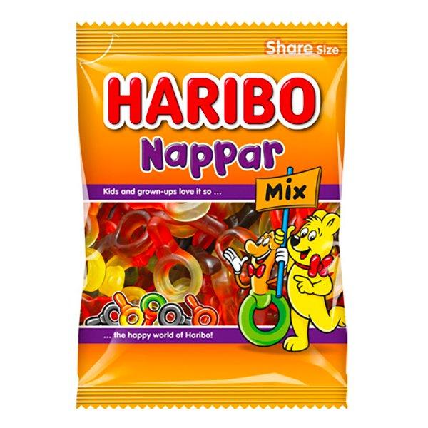 Haribo Nappar Mix - 1-pack