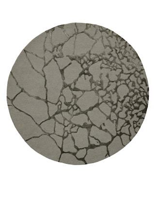 Marmor Matta Grön Ø250 cm